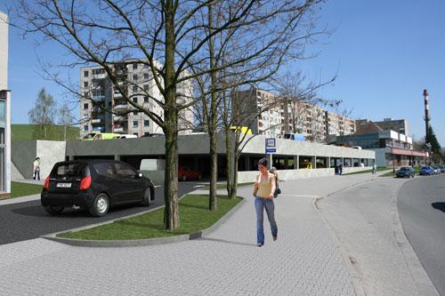 CEKR CZ.s.r.o. - Šumperk Temenice, parkovací dům